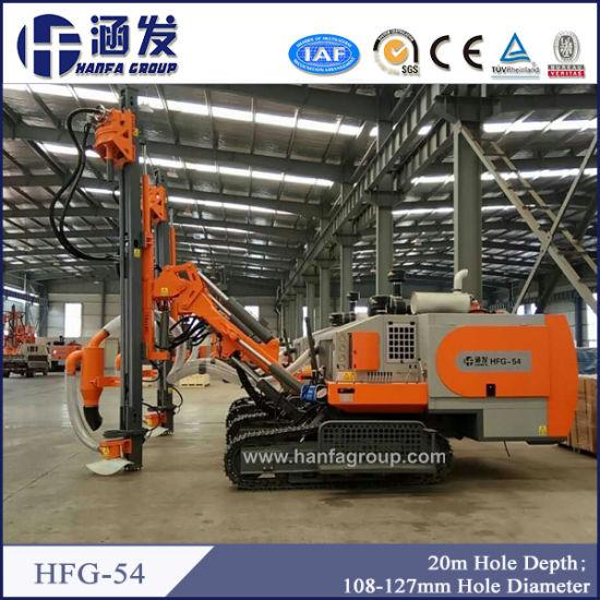 China Sale Crawler Hydraulic Pneumatic DTH Mining Drilling