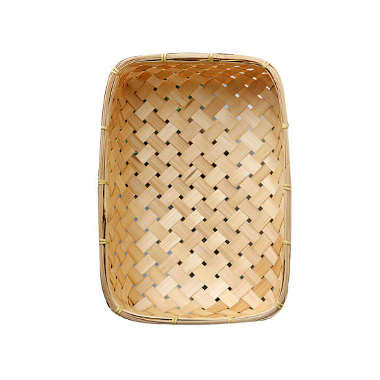 Bamboo Weaving Handmade Bamboo Baskets Bamboo Storage Container pictures & photos