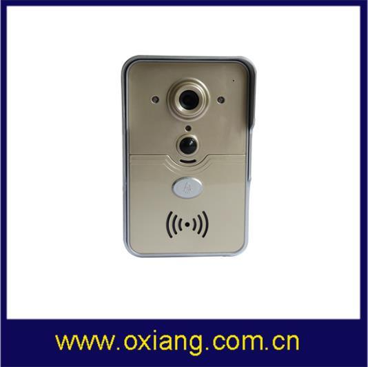 WiFi Video Intercom Digital Doorbell Waterproof Night Vision Movement Detecting Door Phone pictures & photos