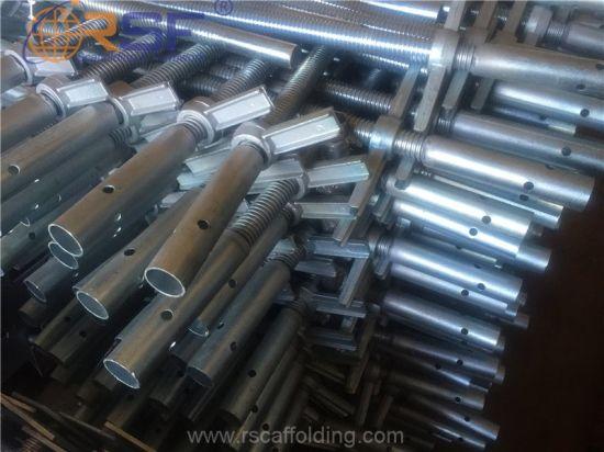 Galvanized Scaffolding Hollow Type Screw Jack for Sales