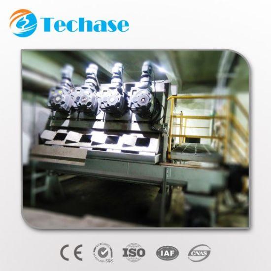 Techase Sludge Dewatering Screw Press Machine for Waste Water Treatment Plant