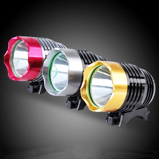 1800 Lumen Super Bright DC USB 5V CREE Xml T6 Waterproof 3 Mode LED Bicycle Front Light