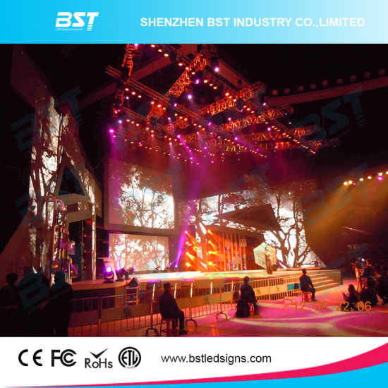 Super Slim P5 Indoor Rental LED Screen for Concert Show pictures & photos