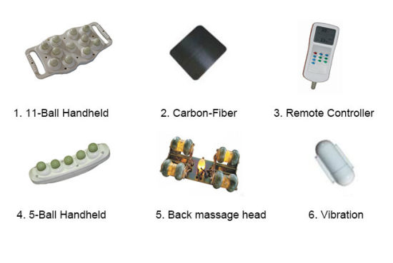 Stationary Massage Table with 6cm Foam Sponge pictures & photos