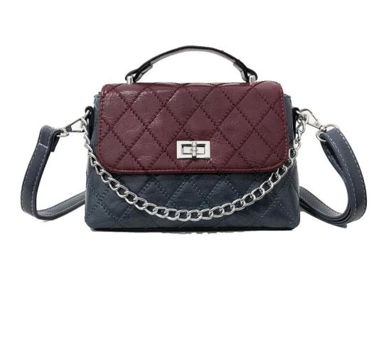 0d276313c4b54f Designer High Quality PU Leather Ladies Red Blue Handbag Shoulder Bag  Female Handbag