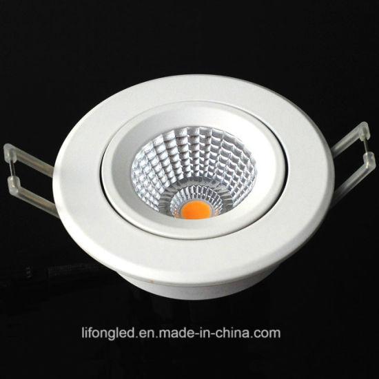 New Design China LED Down Light Adjustable COB LED Downlight