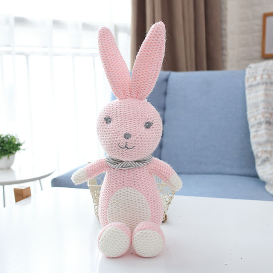 Wholesale Lovely New Stuffed Toy Soft Knitted Animal Baby Doll pictures & photos