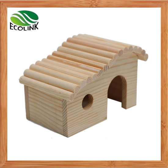 Nationl Color Hedgehogs Cage Hamster Cage Guinea Pig Cage Rabbit Hole Wooden Toy House Observation Deck Toys pictures & photos