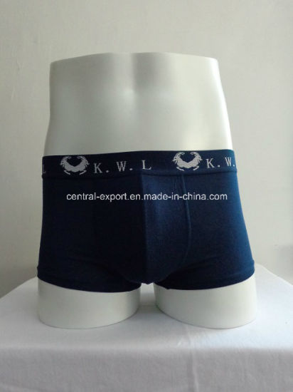 Plain Cotton Mature Men Brief Men′s Boxer Short Men′s Underwear pictures & photos