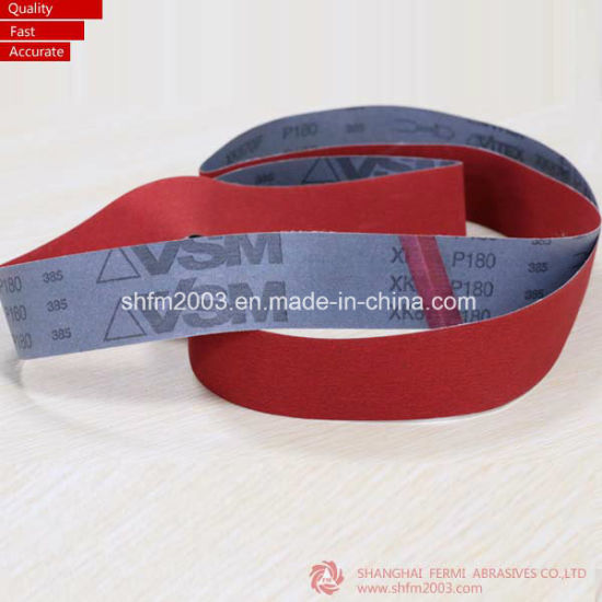 20*520mm, P60, Ceramic Sanding Belts for Grinding Metal pictures & photos