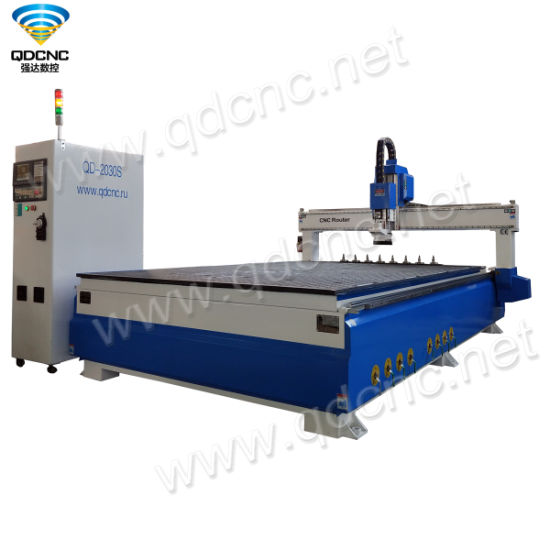 High Precision CNC Router with Auto Tool Changer Working for Outdoor Advertising Qd-1325s/1530s/2030s