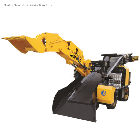 Mining Use Underground Well Tunneling Electric Rock Mucking Wheel Loader
