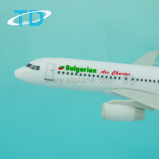 Best Gift for Business Partner Bulgarian 1/200 A320 Scale Airliner Model pictures & photos