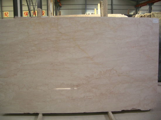 Rose Beige Marble Slab for Countertops and Tiles pictures & photos