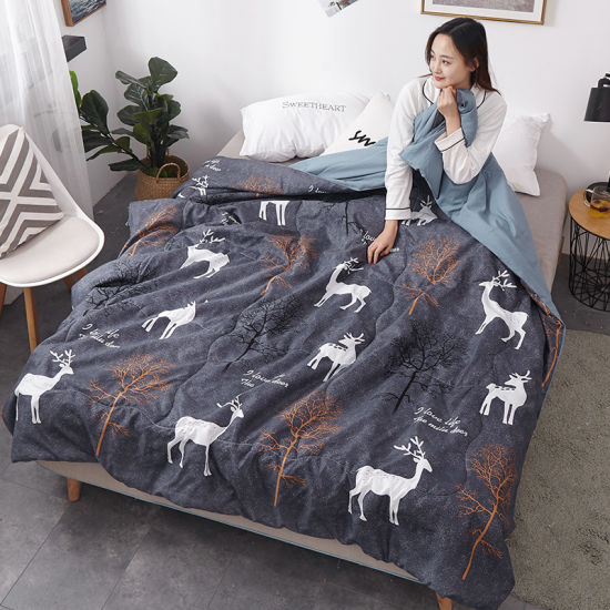 Wholesale Factory Price Full Size Summer Quilt Comforter Set