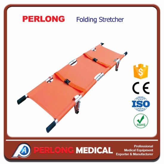 Ambulance Foldable Stretcher Price Lightweight Used Chair Folding Stretcher pictures & photos