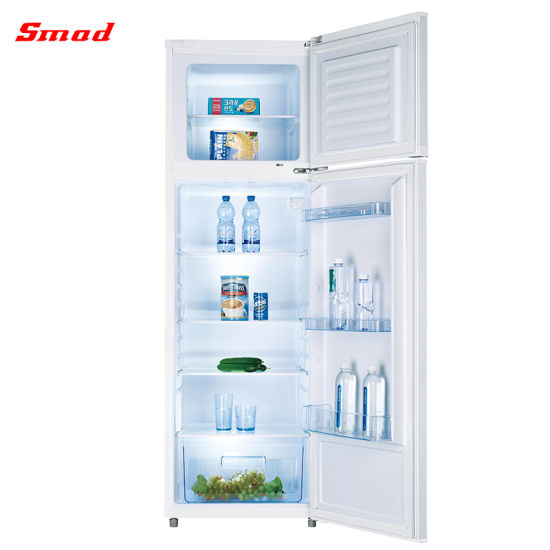 Home Use Double Door Refrigerator Freezer Small Refrigerator
