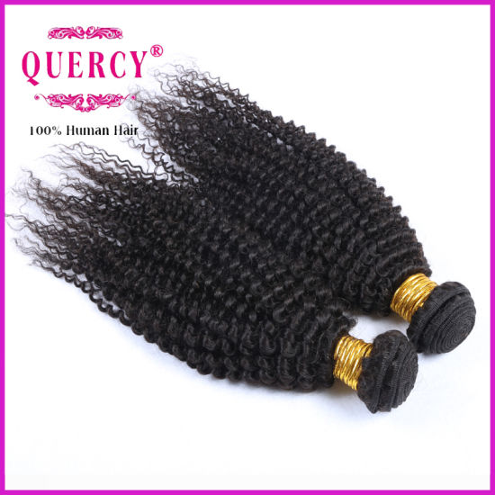 Kinky Curl Peruvian Virgin Hair Weave Bundle pictures & photos
