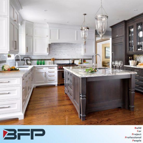 China Customized Rta Solid Wood Kitchen Cabinet China Rta Kitchen