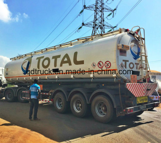 2 Axles Bitumen Asphalt Tanker Semi Trailer pictures & photos