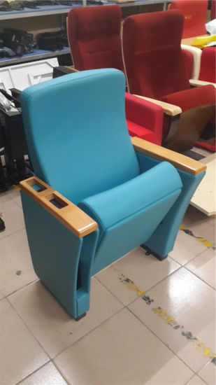 European Style Cinema Theater Chair for Function Hall by Foshan Factory pictures & photos