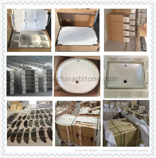 Chinese Granite and Marble for Supermarket Countertop pictures & photos