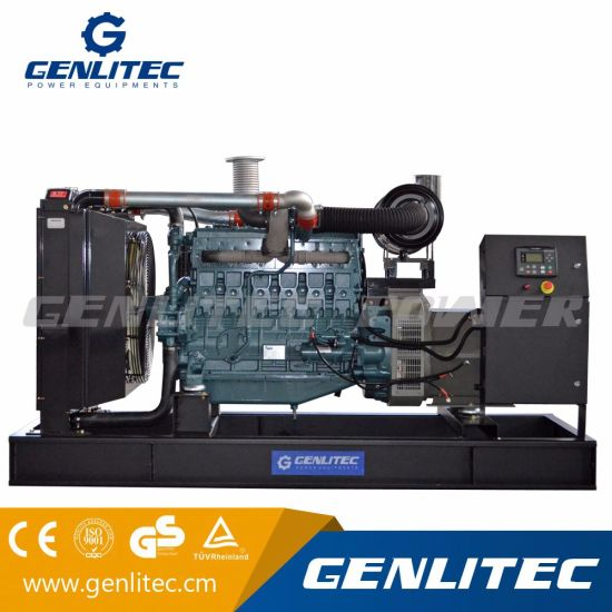 china korea doosan engine p126ti ii powered diesel generator 300kva rh genlitec en made in china com