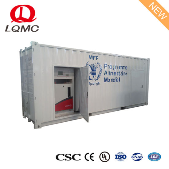 ISO 40FT Mobile Service Containerized Fuel Petrol Station pictures & photos