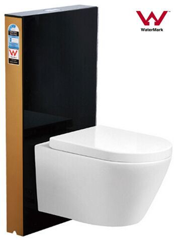 Australian Standard Watermark and Wels Approval Toughened Glass Cistern for Toilet/Toilet Tank (6013T-B)