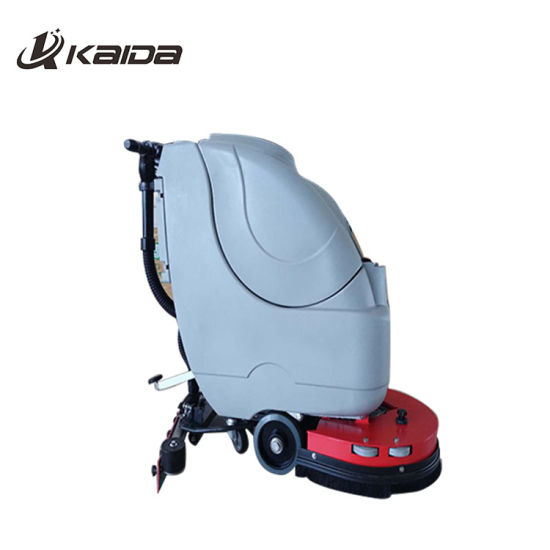 China Top Brand Floor Scrubber Sweeper Cleaning Machine China - How to use a floor scrubber machine