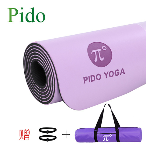 Printed Natural Anti-Slip Yoga Mat pictures & photos