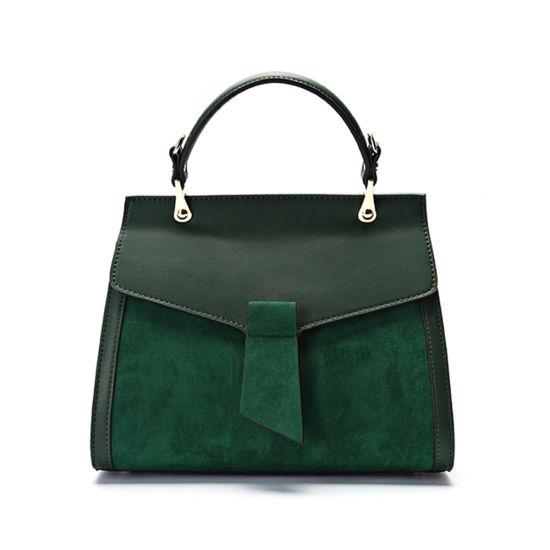 Genuine Leather Designer Handbag Fashion Kelly Hand Bags for Women