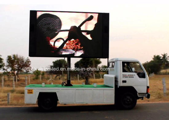 Road Display Function Portable Vms Trailer with Video LED Display