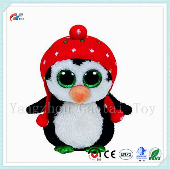 Ty Big Eyes Stuffed Animals Plush Penguin Baby Toy pictures & photos
