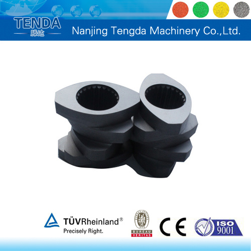 Screw and Barrel for Tenda Twin Screw Extruder pictures & photos