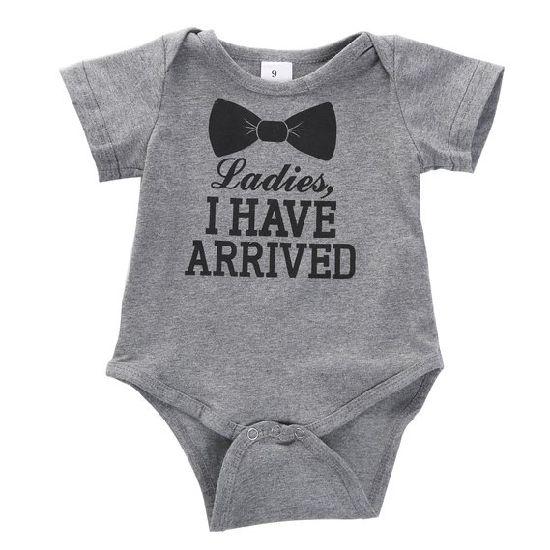 b96dde4d982e Newborn Baby Boys Girls Bowtie Short Sleeve Romper Bodysuit Playsuit Outfits.  Get Latest Price
