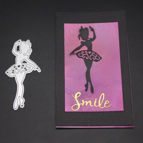 China Dancing Girl Scrapbooking Dies For Card Making China