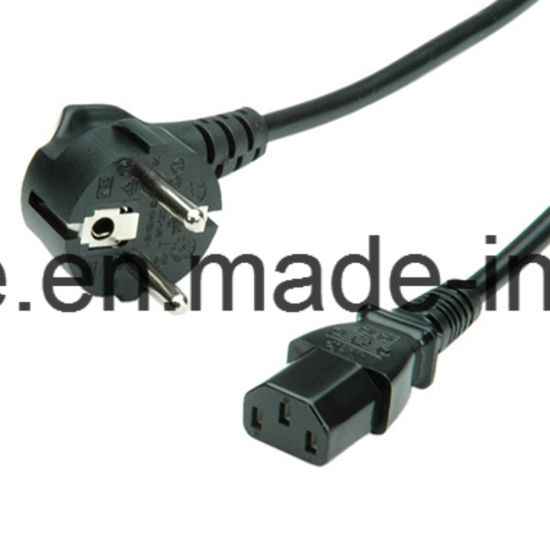 2m White VDE Kema Cee7 Power Cord for Electric Grill pictures & photos