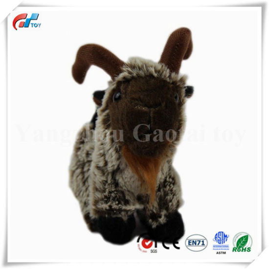 New Design Custom Soft Stuffed Toy Goat