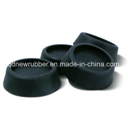 Black Table Rubber Furniture Chair Feet Leg Bottom Anti Skid Shock Floor Protector