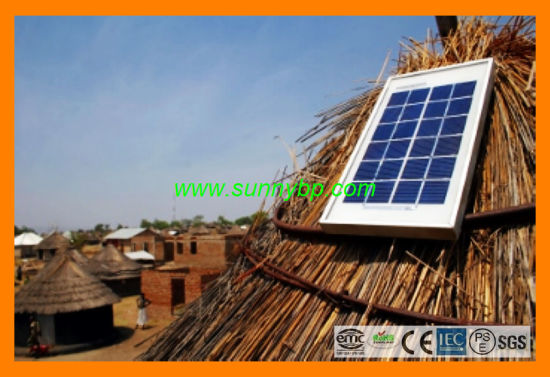 Plug and Play Solar Cell Lighting for Rural Village pictures & photos