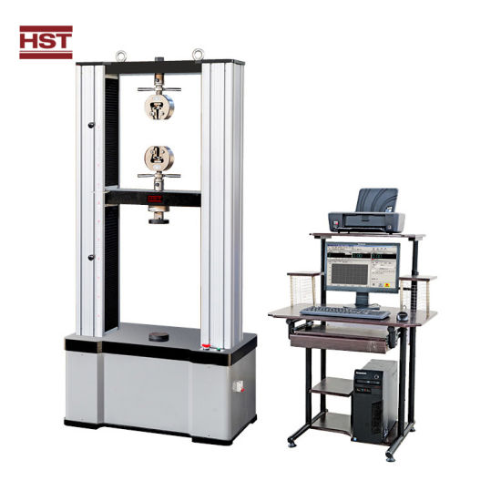 Metal/Plastic/Rubber Material Universal Tensile/Compression/Bending Strength Testing Machine (20/50/100/200/300/600KN)