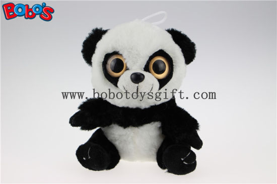 Hot Sale Stuffed Panda Animal Toys with Big Eyes Bos1167 pictures & photos