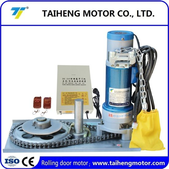 Side High Quality Rolling Door Motor with Electronic Controler