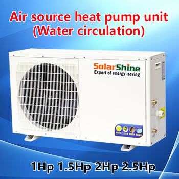 Air Source Heat Pump Water Heater Unit for House Application