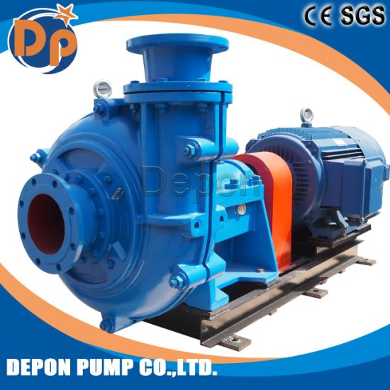 High Pressure Large Flow Centrifugal Gravel Sand Dredging Pump pictures & photos