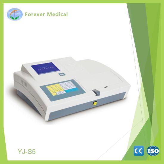China Clinical Equipment Semi-Auto Biochemistry Analyzer