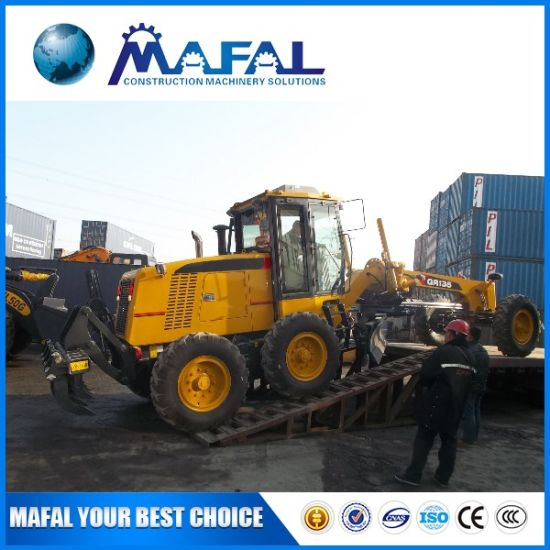 China Construction Machine Gr135 Small Motor Grader for Sale