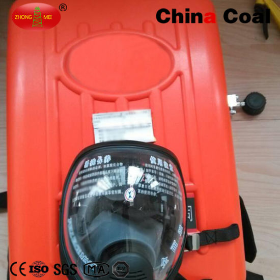 Compressed Oxygen Self-Rescuer Mini Escape Respirator pictures & photos