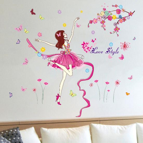 Dancing Wall Decals Tv Background